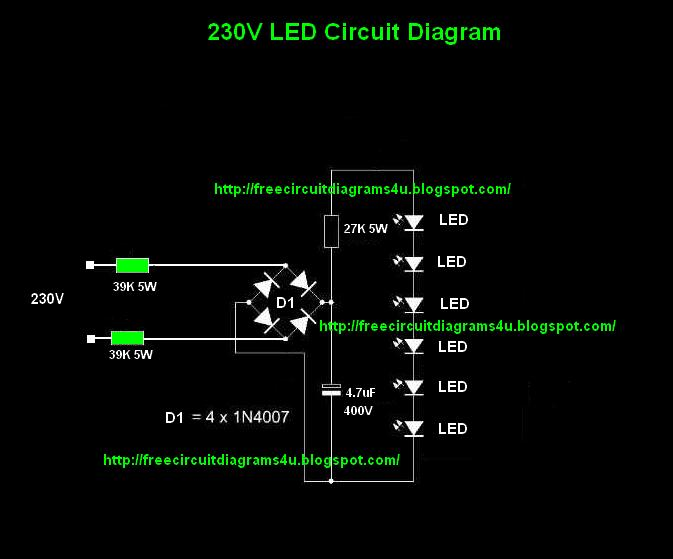 led wiring diagram 230v led image wiring diagram circuit diagrams 4u 230v led bulb circuit on led wiring diagram 230v