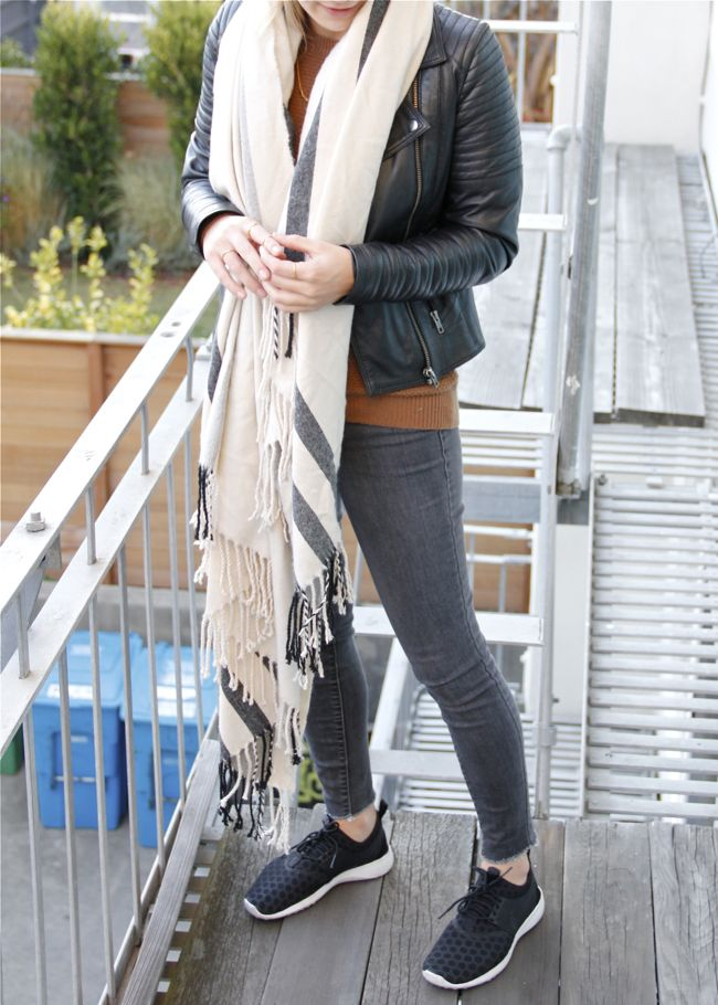 Shae Roderick, Current Habits, Wrapped Up, blanket scarf, ASOS