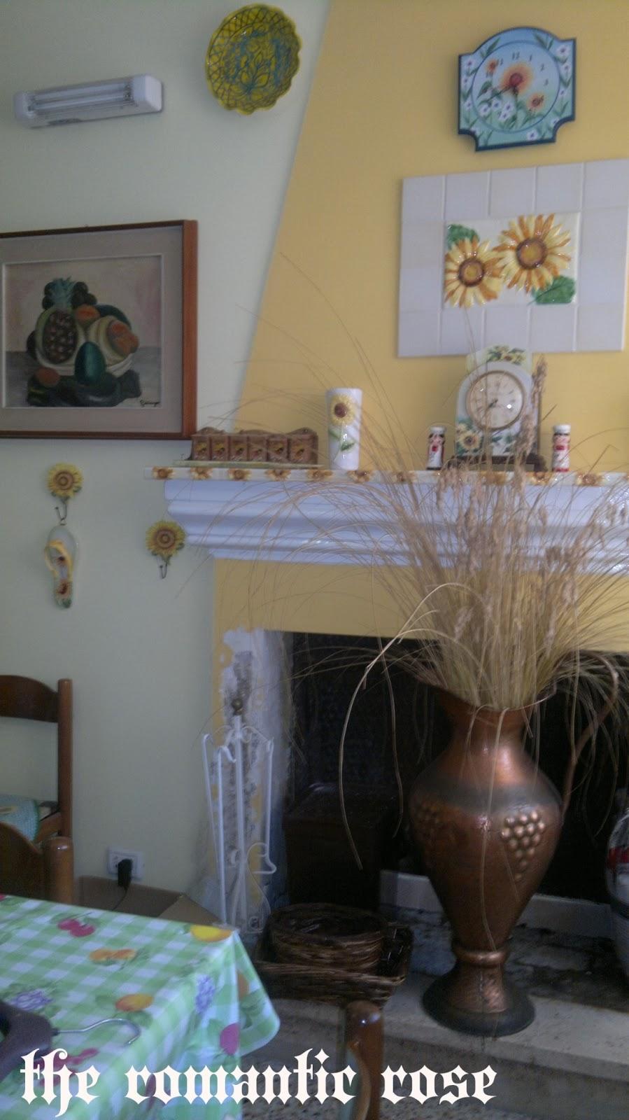 The romantic rose la casa dei ricordi - Camino nell angolo ...