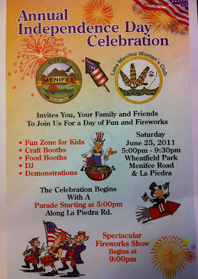 City of Menifee Independence Day