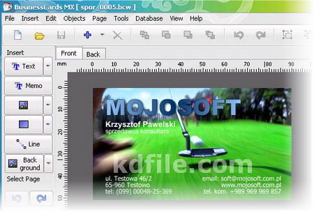 Business card mx 467 free download full version with serial key 400 supported business card paper for ink jet and laser printers from avery apli hisago sigel a one printec and other manufacturers reheart Gallery