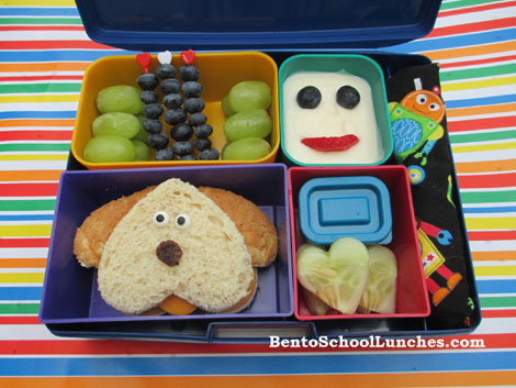bento school lunches laptop lunches 2 0 review and puppy bento lunch. Black Bedroom Furniture Sets. Home Design Ideas
