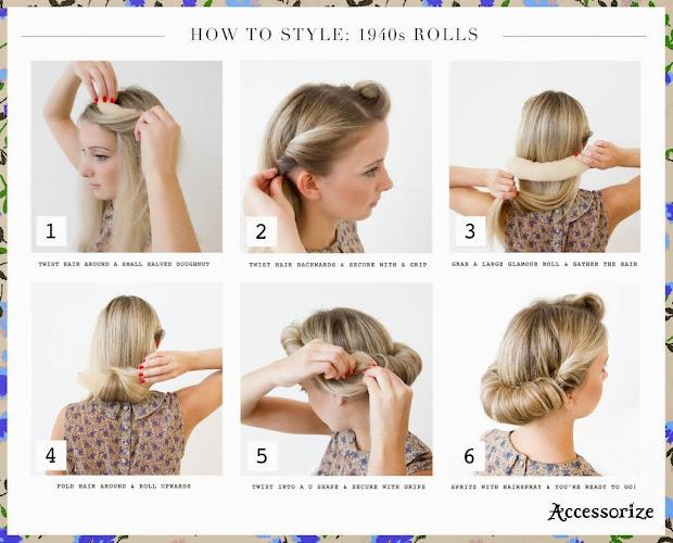 lipgloss & lashes party hair ideas