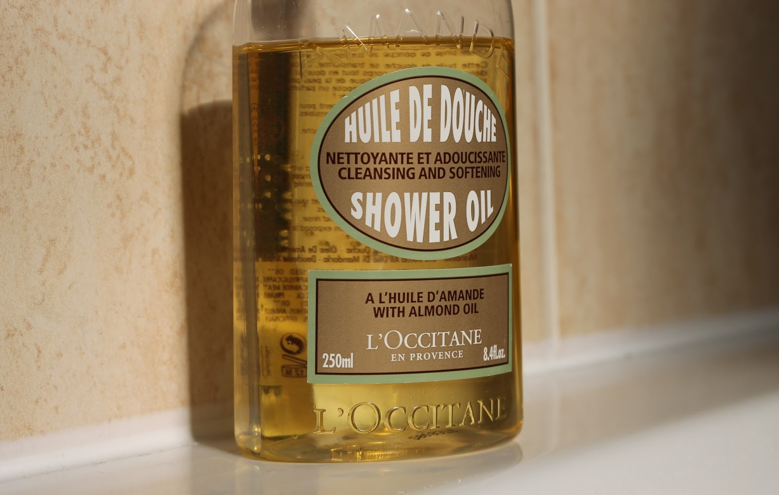 Lu0027Occitane Almond Shower Oil.