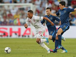 Euro 2012 Anh Và Pháp Hòa 1-1 , euro 2012 , video euro2012