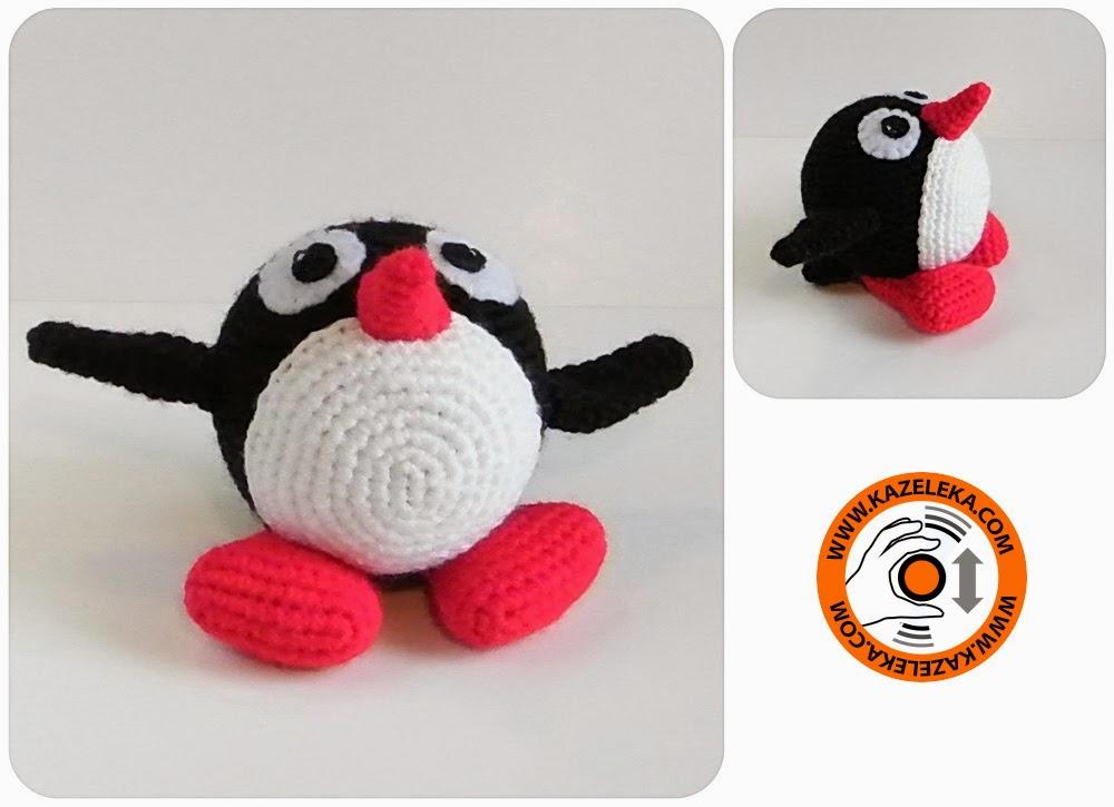 амигуруми пингвин