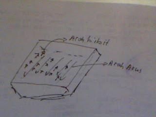 arah pergerakan bibit ikan lele