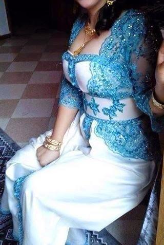 فساتين اعراس جزائرية 2016 جميلة اجمل قنادر الاعراس للفتيات  قنادر جزائرية اون لاين