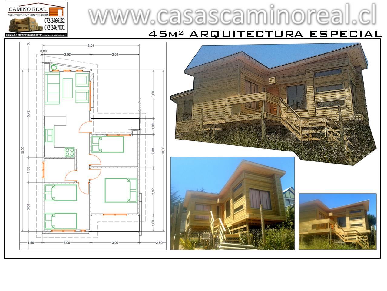 Casas prefabricadas de madera y acero galvanizado camino - Casas modulares de acero ...