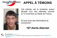 Paris attacks: Police issue photo of third terror suspect