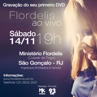 Vem aí: gravação DVD de Flordelis