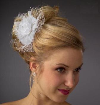 Elegant wedding hairstyles   Jewelry Accessories World
