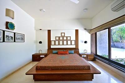 Kamar Tidur Desain Rumah Minimalis 1 Lantai yang Indah