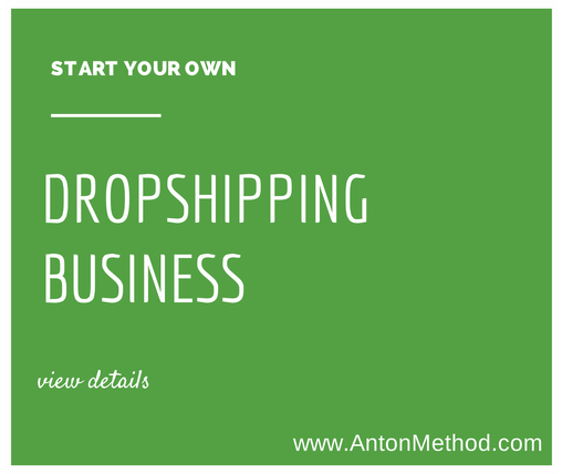 anton method drop ship lifestyle