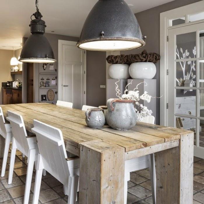 Keuken Landelijk Stoer : Stoer landelijk