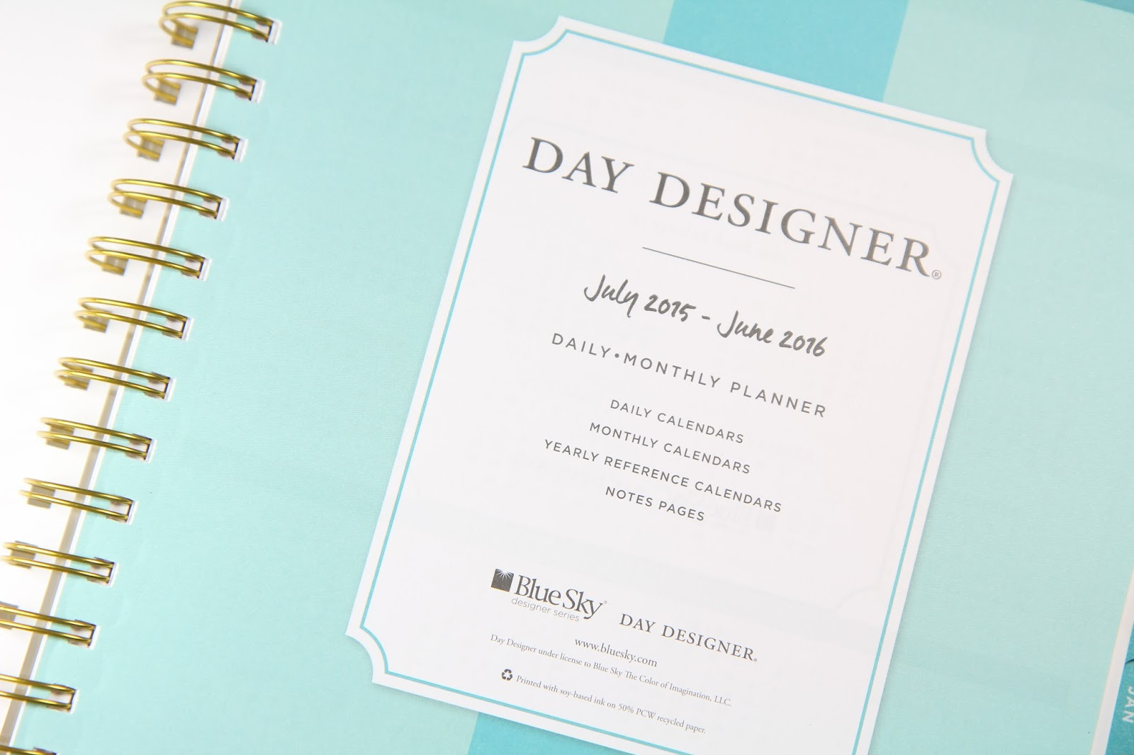 day designer daily monthly planner microscope beauty