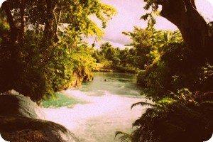 Masyarakat Adat Sepse Kelola Objek Wisata Danau Kali Biru