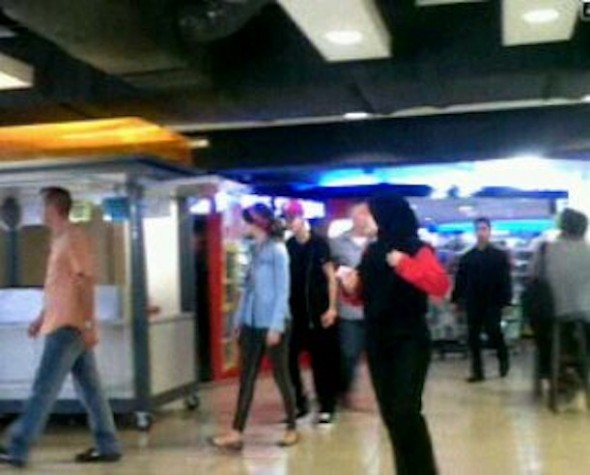 Gambar Justin Bieber Dan Salena Gomez Di Wangsa Walk