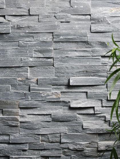 Bonitos acabados de piedra para paredes exteriores for Paredes exteriores decoradas