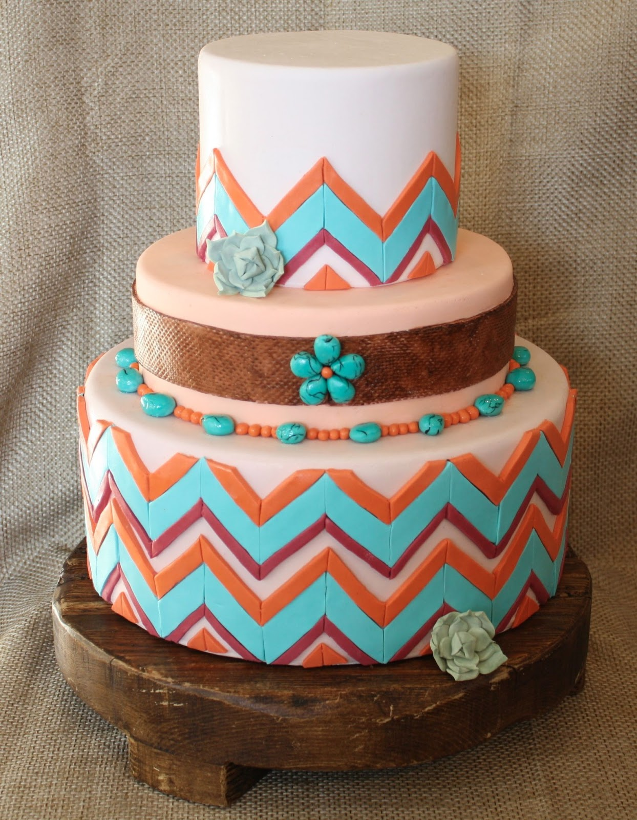 The Butterfly Sweets Blog New Mexico Wedding Cake