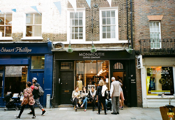 Monmouth coffee company london
