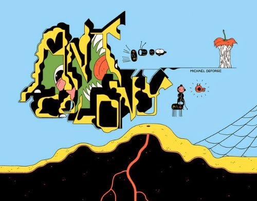 Michael DeForge's Ant Colony Cover