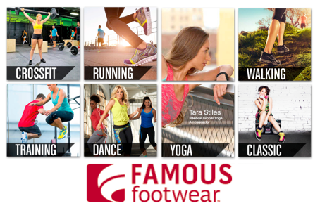 Famous Footwear athletic shoes