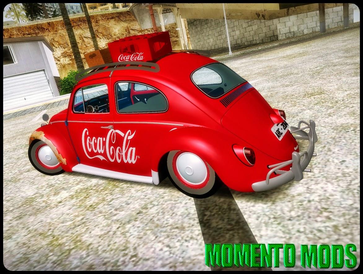GTA SA - Volkswagen Fusca 1967 Da Coca Cola