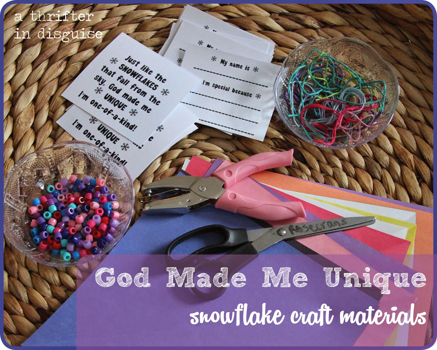 Winter crafts for religious ed