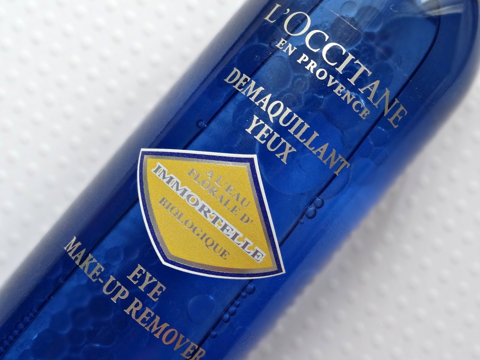 L'Occitane Immortelle Eye Makeup Remover