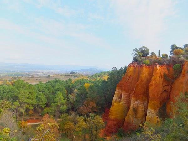 France Provence Luberon Roussillon sentier des ocres