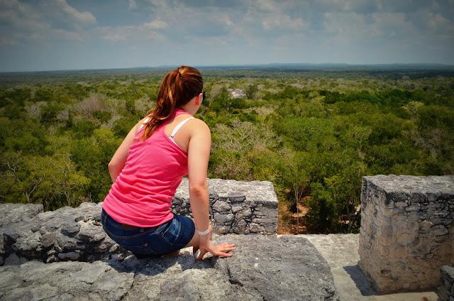 Desde lo alto de Calakmul