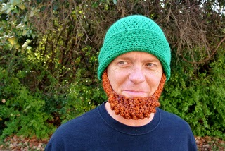 Crochet Beard Hat Irish