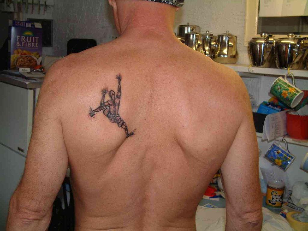 Ink Tattoo Spider Man