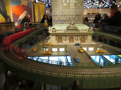 New York Transit Museum train exhibit