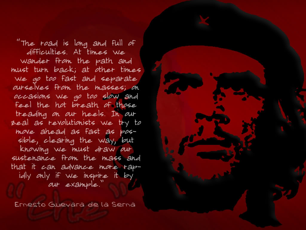 che guevara quotes about mexicans quotesgram