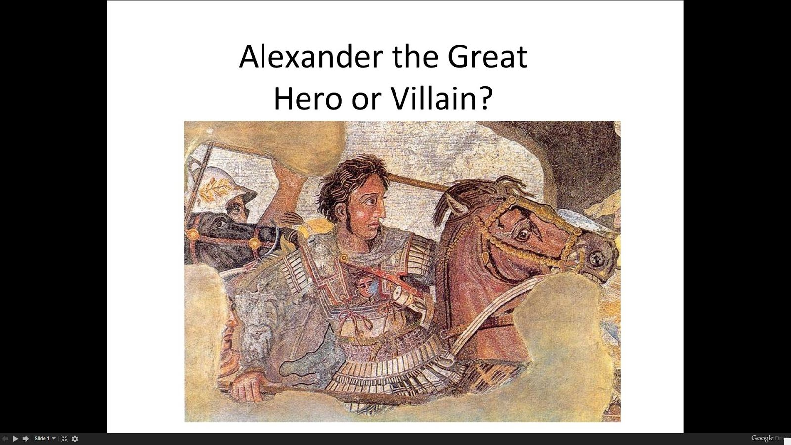 CLICK ON TO VIEW ALEXANDER THE GREAT MATERIALS
