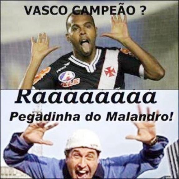 2c019e53e5 Piadas sobre o vice do Vasco fazem sucesso na rede