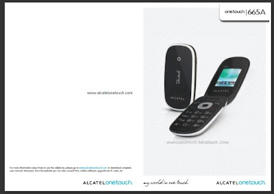 Alcatel OT-665 Manual Cover