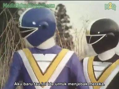 Chikyuu Sentai Fiveman Ep 6 Subtitle Indonesia