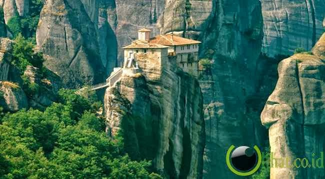 Meteora Monasteries, Thessaly, Yunani
