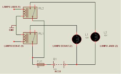 UMOEE: Membuat Lampu Motor Lebih Terang Dan Bell berbunyi Keras