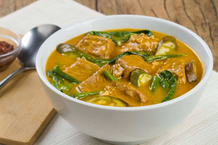 Kare-Kareng Baka sa Gata Recipe