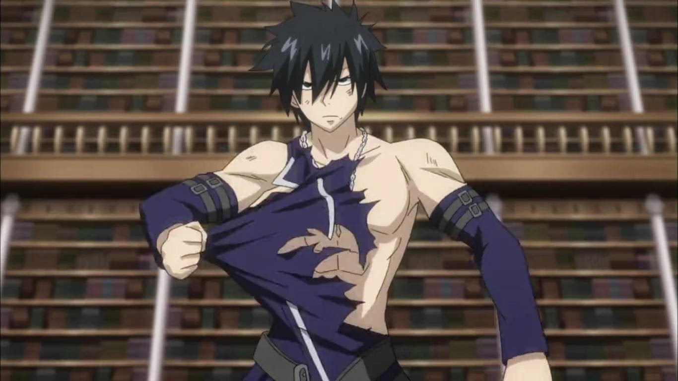 Fairy Tail 2014 Episode 4 - Gray VS Rufus!