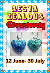 Aesya Zealous 2nd Giveaway