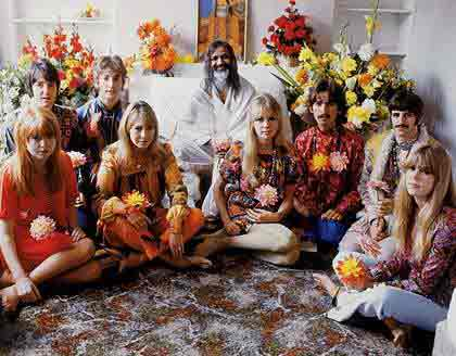 Beatles with the Maharishi