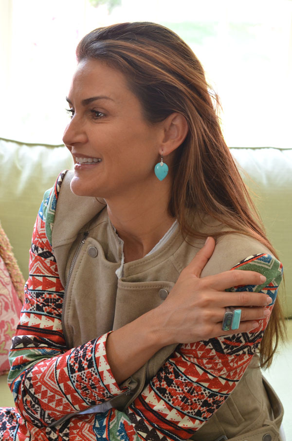 Mimosa Lane Blog, Elizabeth Showers jewelry, turquoise
