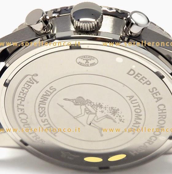 fondello Jaeger LeCoultre Deep Sea Chronograph Cermet
