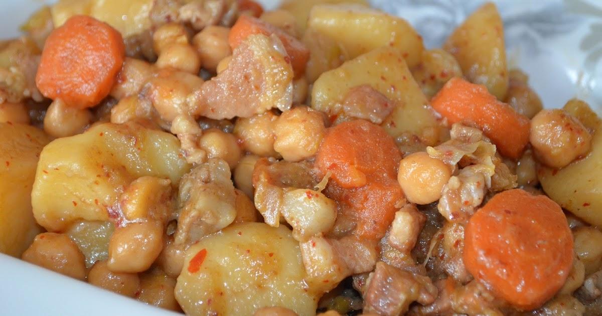 Cocinar con c garbanzos con panceta y cal ots for Cocinar garbanzos