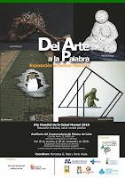 """EXPOSICIÓN ARTÍSTICO-LITERARIA """"DEL ARTE A LA PALABRA"""""""
